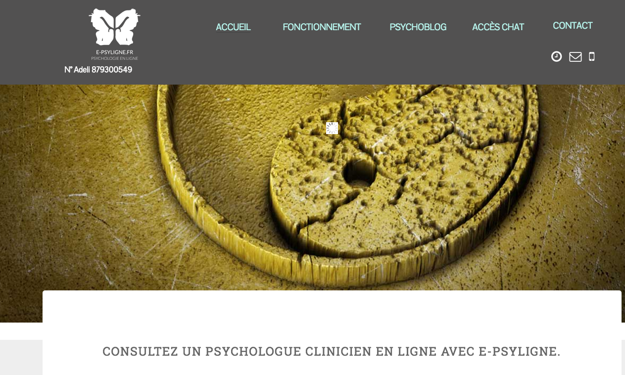 MéDECINS SPéCIALISTES : E-psyligne